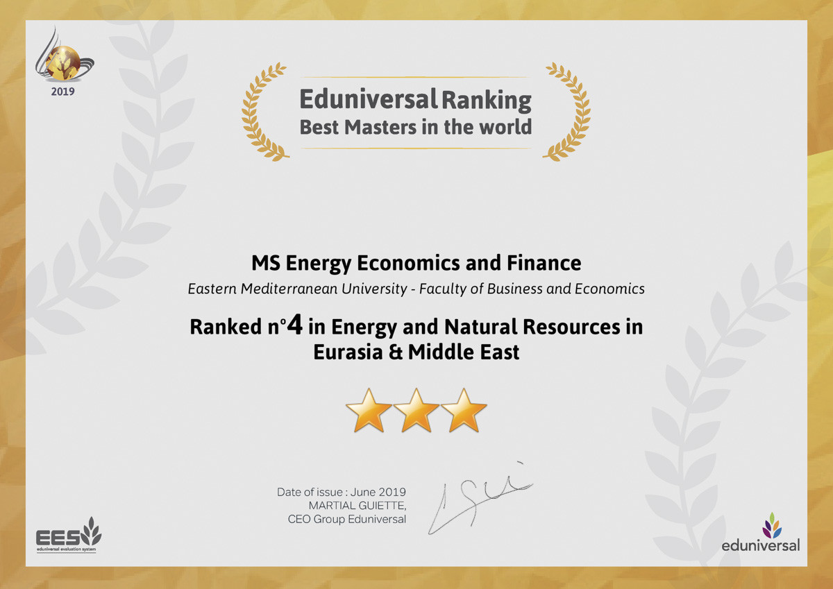 Important Achievements of EMU Business and Economics Faculty Postgraduate Programs