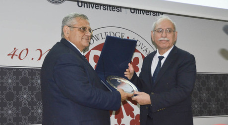 EMU Hosts a Conference by the President of the Turkish History Association Prof. Dr. Refik Turan