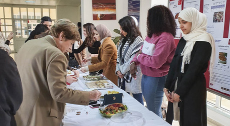 "EMU Nutrition and Dietetics Department Organises ""2nd Intercultural Food Festival"""