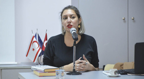 Author of Sunday Times Bestseller Chimene Suleyman Delivered a Conference in EMU