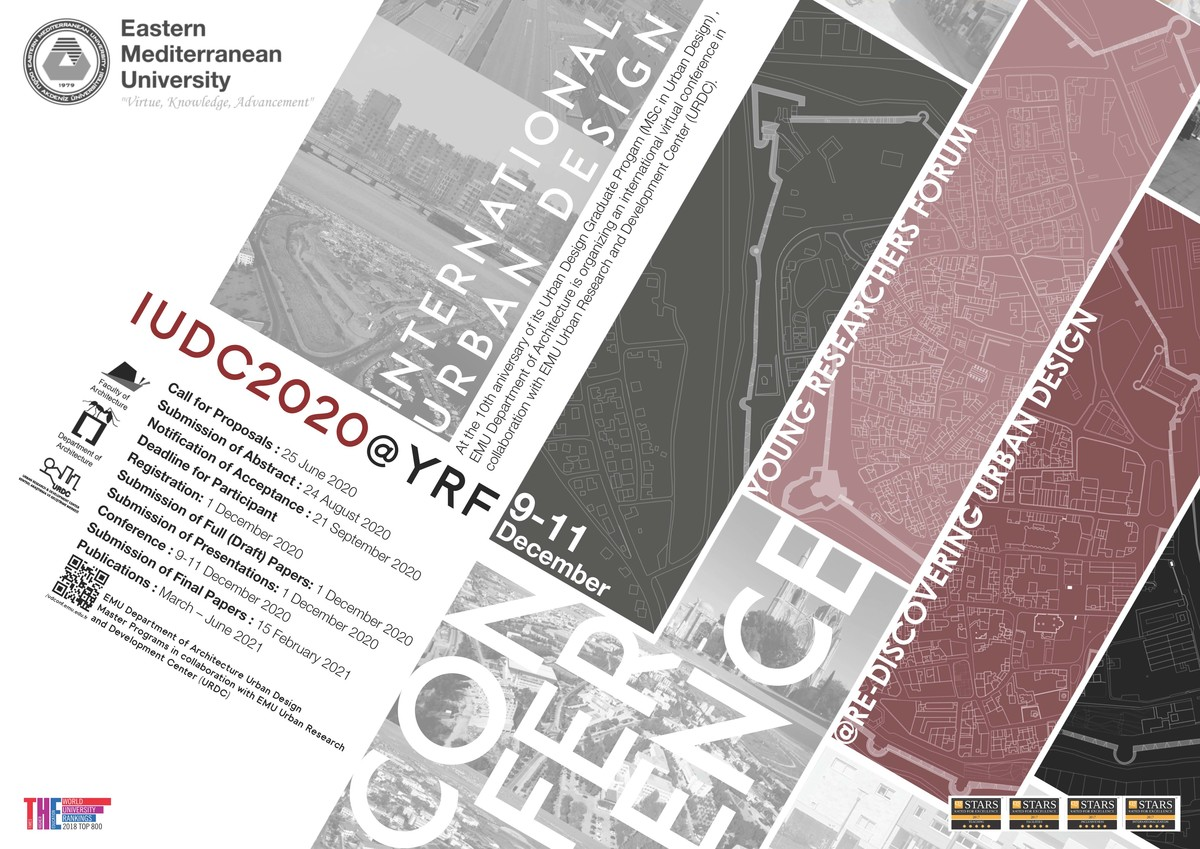 International Urban Design Conference: Young Researchers Forum@Re-Discovering Urban Design (IUDC2020@YRF)