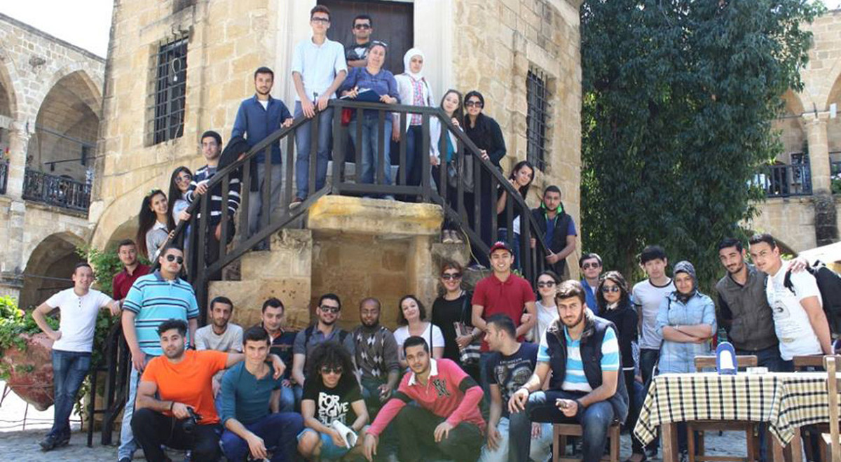 EMU Preparatory School Students Discovering Cultural Heritage