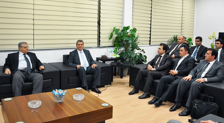 Northern Iraq Regional Government Higher Education Minister Dr. Pishtiwan Sadıq and His Team in EMU
